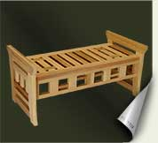 Custom wood garden bench #1 by prowell woodworks