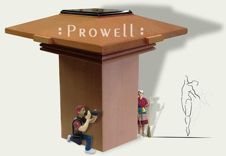 prowell's custom wood post cap