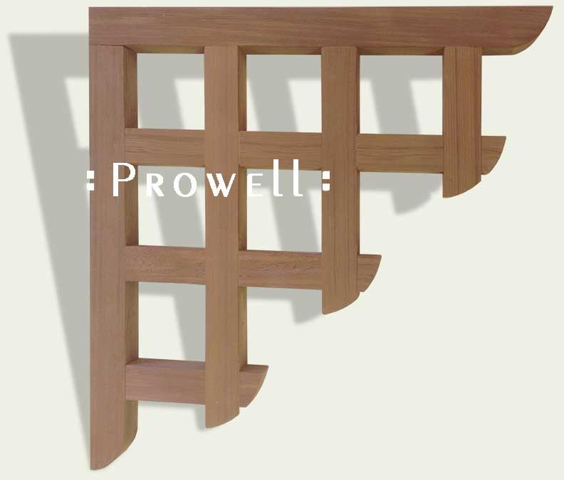Wood Corbels #3. Prowell