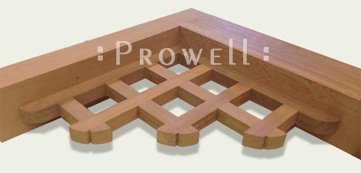 Custom Wood Corbels #3. Prowell