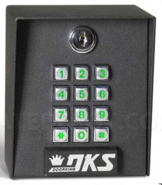 gate access keypad. FDoorKing