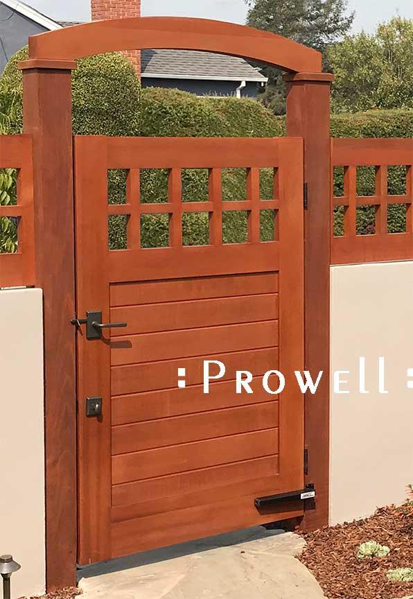 Lockey TB175 hydraulic gate closer on prowell gate #4