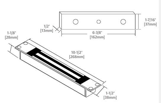 Magnal Lock M32 diagram