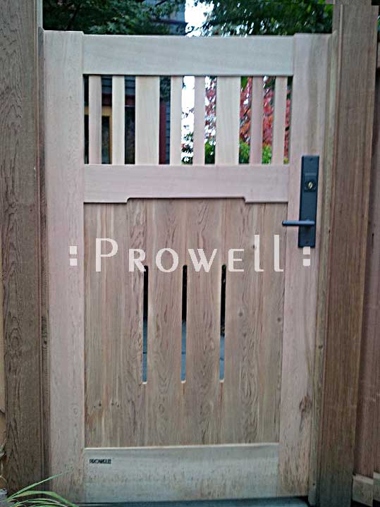 prowell gate with RMH bronze gate latch