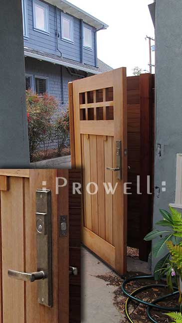 brone R<H gate latch with prowell gate