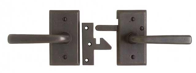 Rocky Mountain bronze gate latch E-414