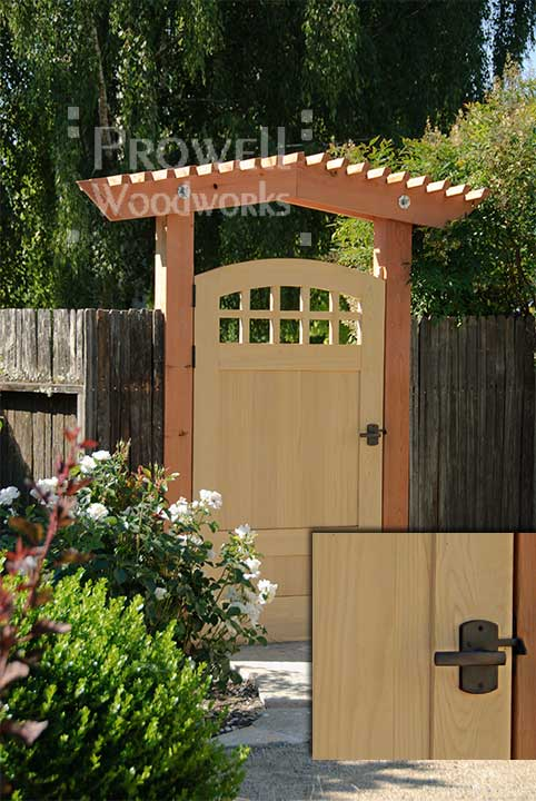 prowell wood gate #20 with RMH gate latch
