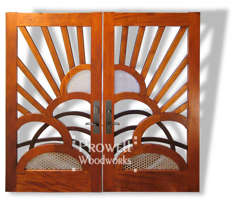 prowell wood gate #203 with RMG gate latch