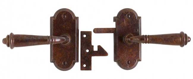 Rocky Mountain bronze gate latch E701