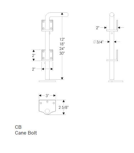 Cane Bolt
