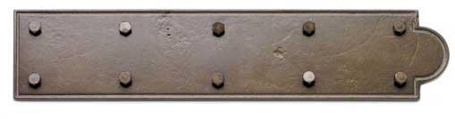 bronze ornamental hinge