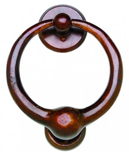 bronze door and gate knockers DK7
