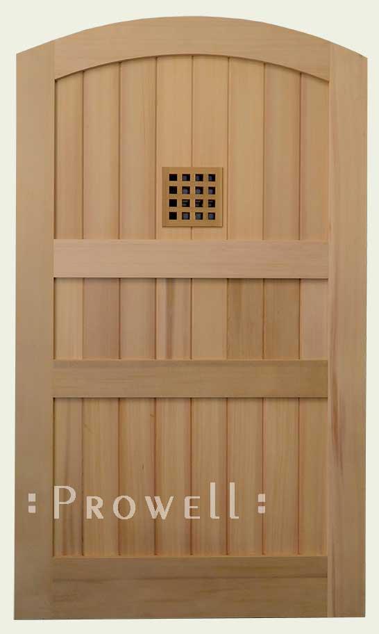 privacy gate wth open speakeasy poetal