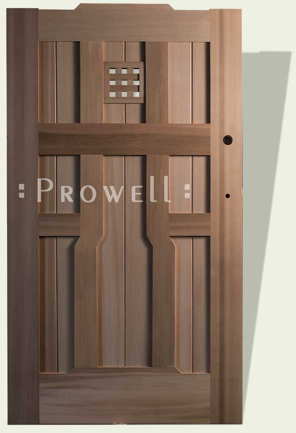 wood gate 92 with speakeasy style #3