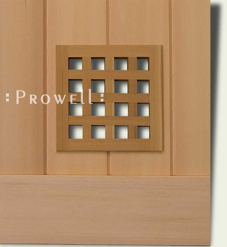Option #2 Speakeasy for wood gates. Prowell