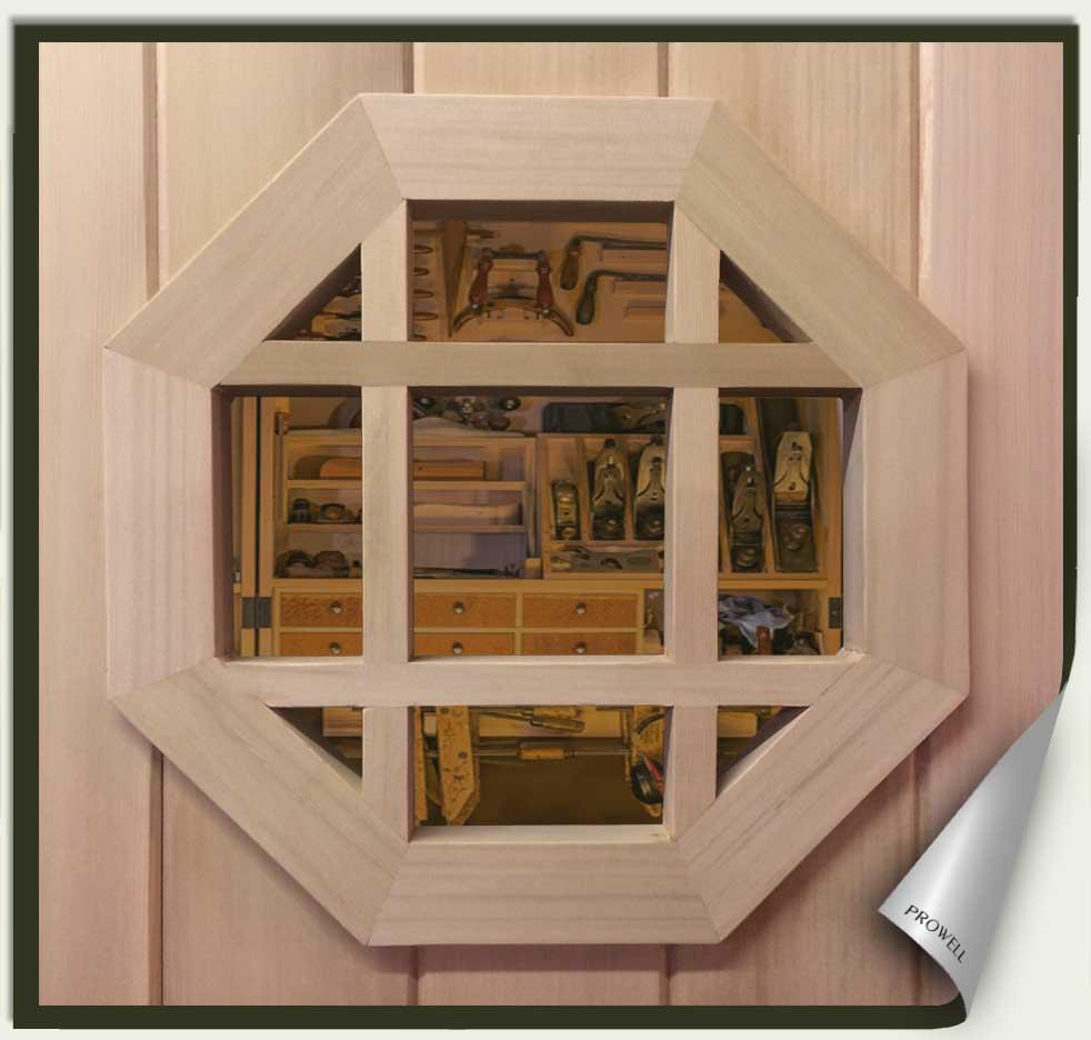 wood gate portal speakeasy #5. prowell