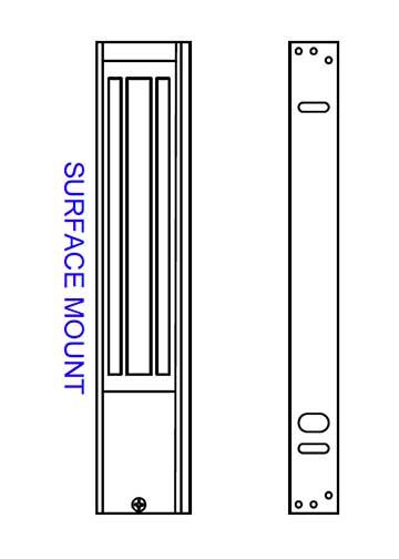 Magnal Lock M62 diagram