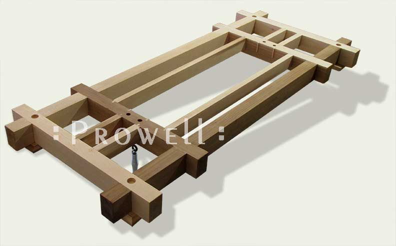 wood swing stand. Prowell