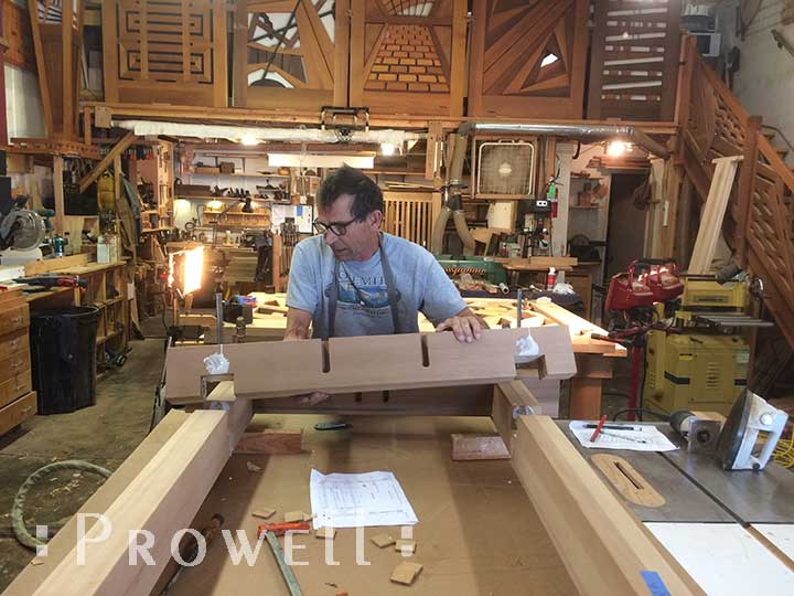 Building a swing stand. prowell