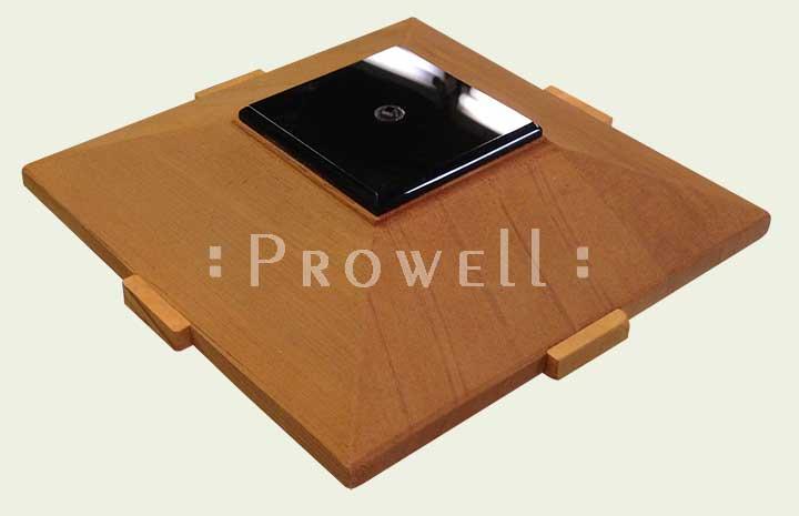 Prowell's Signatore Wood Post Cap