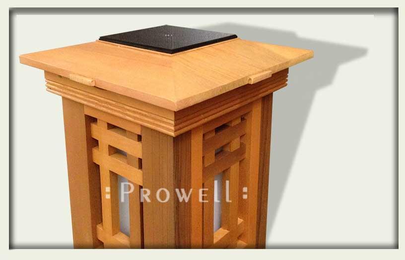 Prowell's Signatore Custom Wood Column Cap