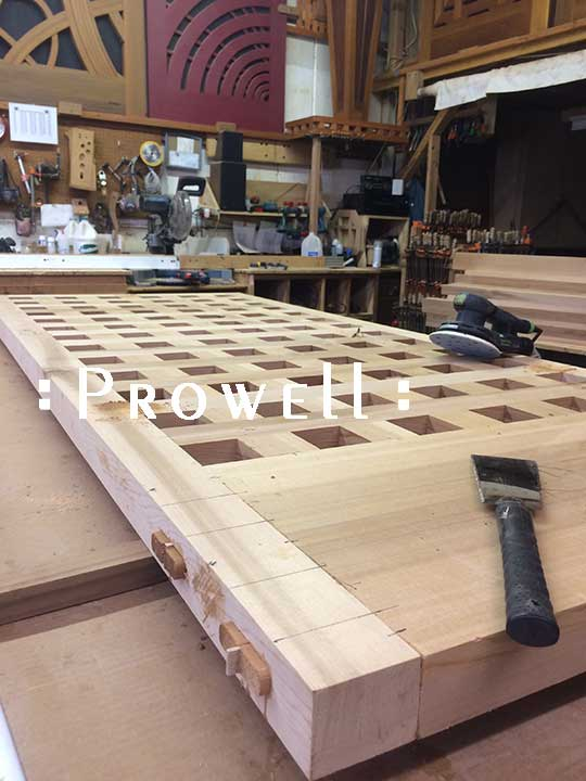wood joinery for shutters.prowell