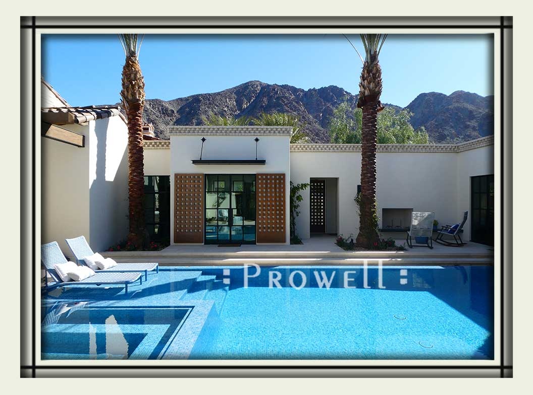 oversized wood shutters #2b in Palm Springs, CA. Prowell