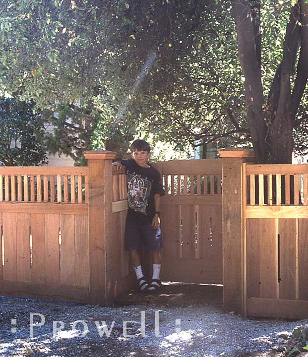 How to build a wood fence by Prowell
