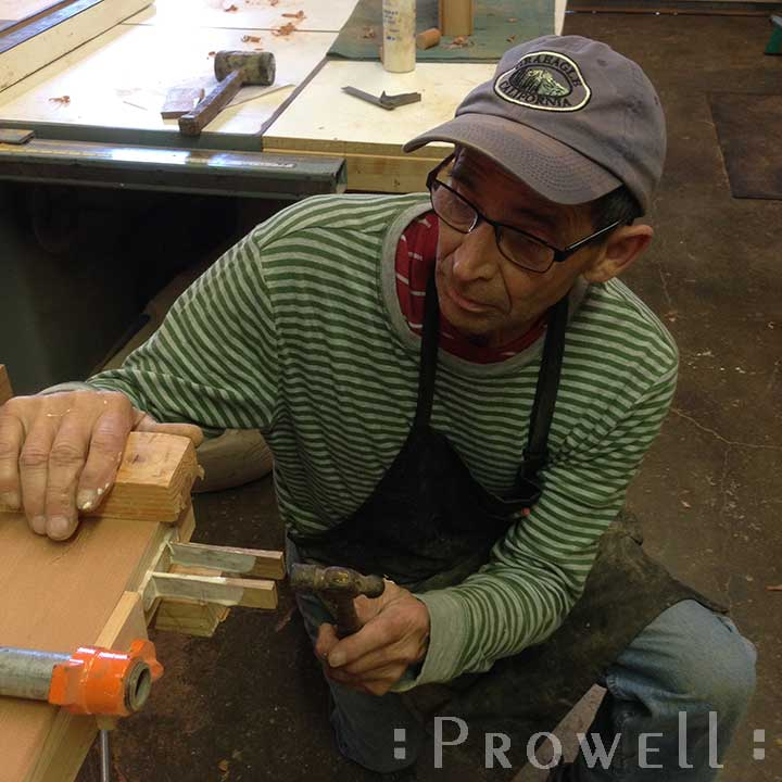 shop photo showing how to build wooden gates #87