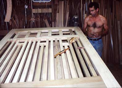 How to build a wood estate gates #12