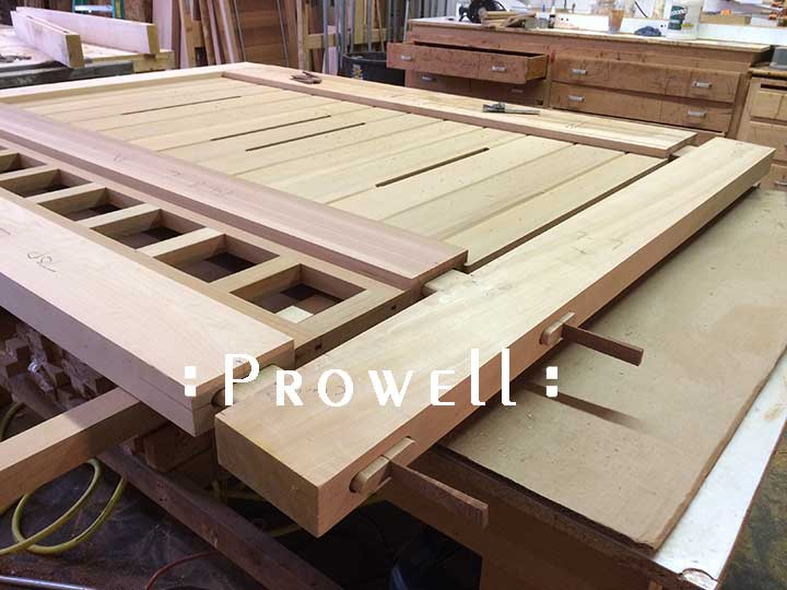Prowell driveway gate joinery