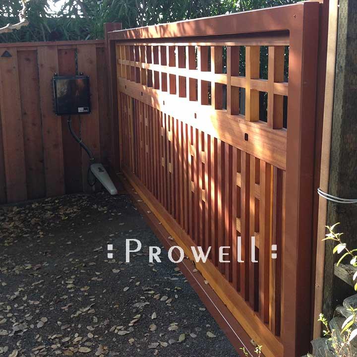 steel frames for wood driveway gates in Berkeley, CA