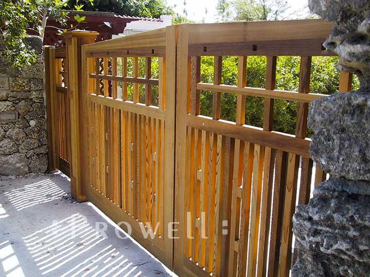 craftsman driveway gates in Miami