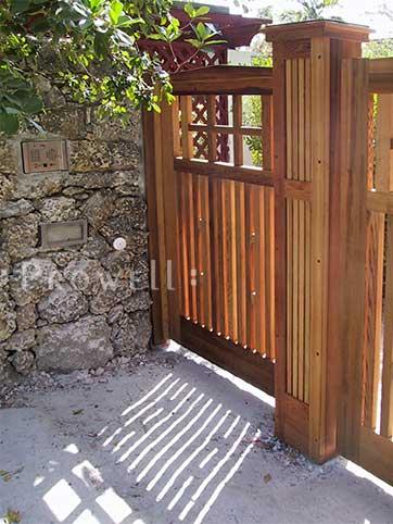 wood gates in florida