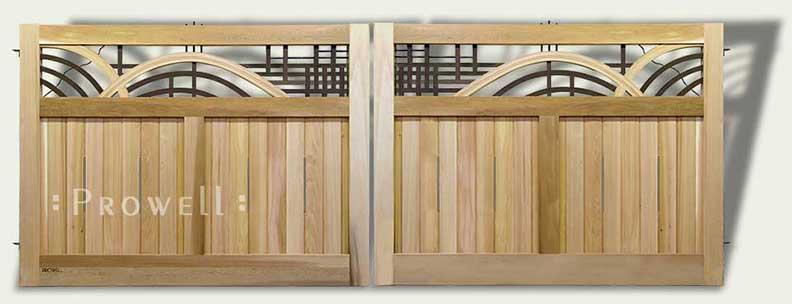 Image of the matching driveway gate #200