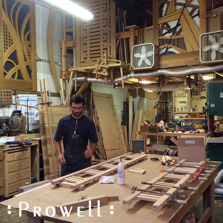 building a custom wood driveway gate with ben prowell
