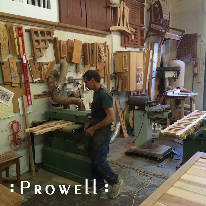 Building a custom wood driveway gate #29
