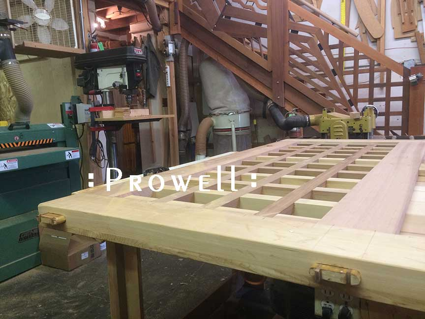 wood gate joinery