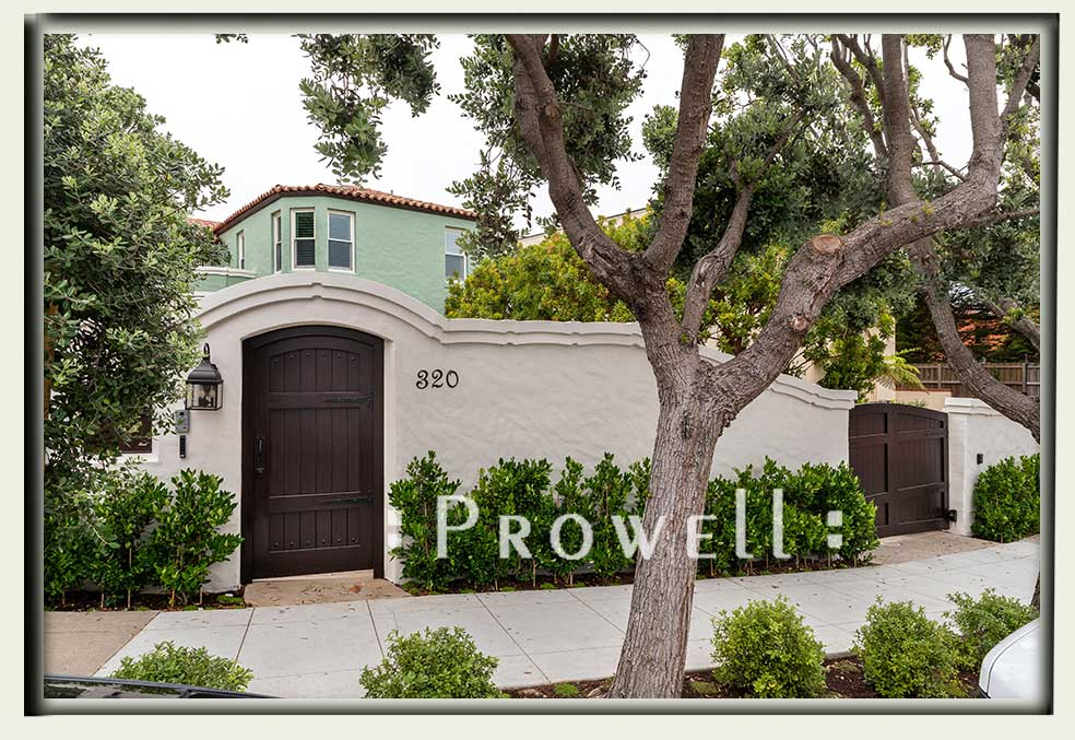 site photograph showing the driveway security gates #6-3 in San Francisco. Prowell