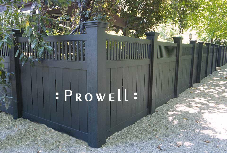 custom wood fence panels #1 in Marin County