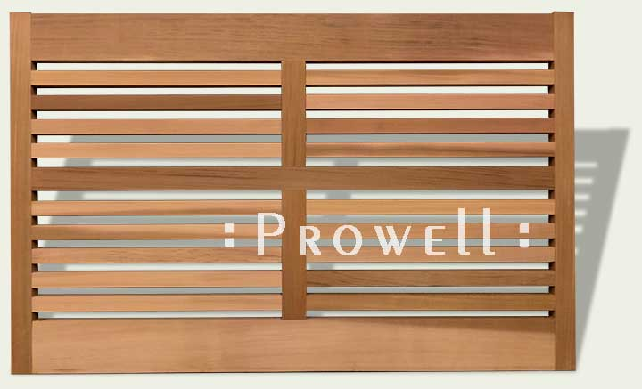 short wood fence #10. Prowell