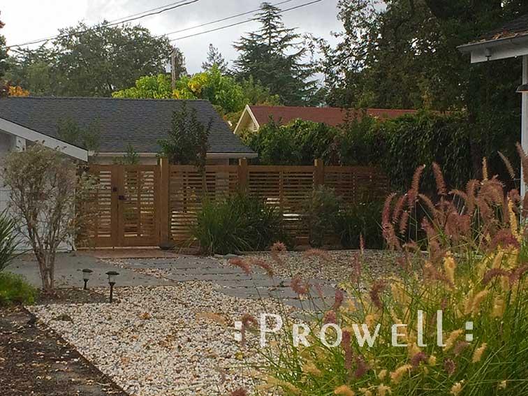 wood garden fence #10. prowell