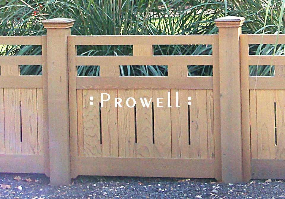 Custom Wood Fence Panels #15 in Idaho
