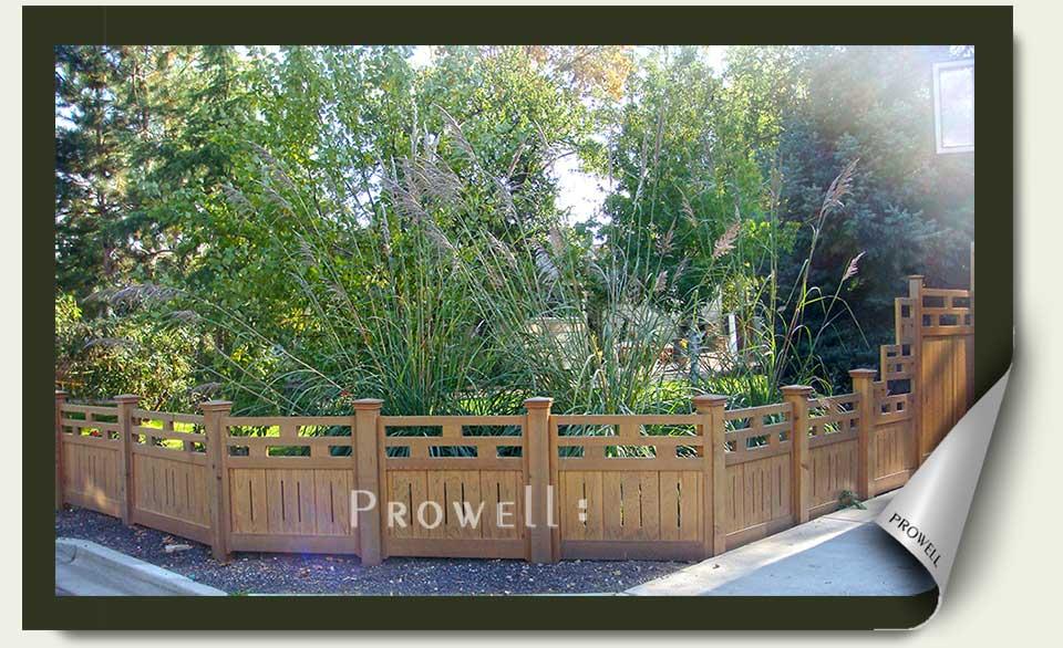 Custom Wood Fence Panels #15 in Boise, Idaho