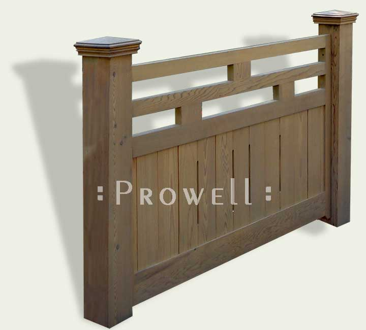 custom Wood Fence Panels #15