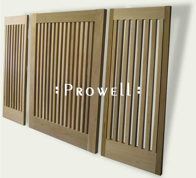 custom wood fence Panel #16