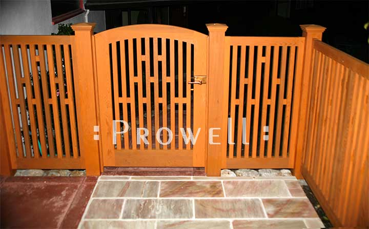 custom wood fence Panels #16 in Berkeley, CA