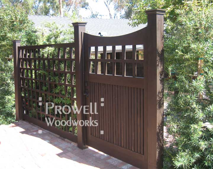 custom wood fence Panels #19 in Seattle, WA