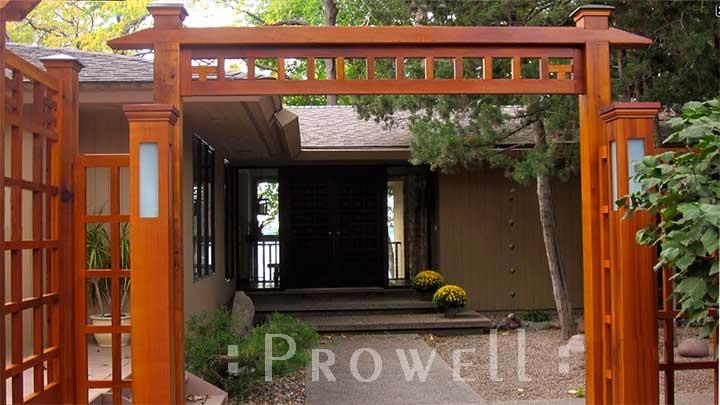 custom wood fence Panels in Minneapolis, MN