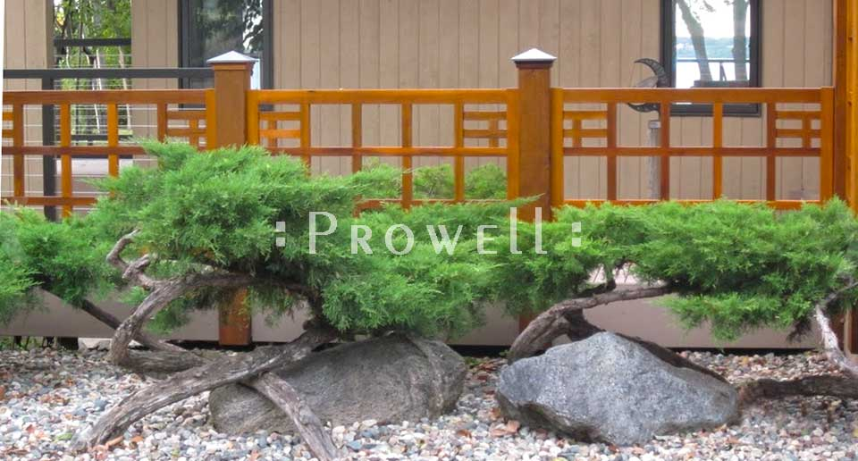 custom wood porch and deck railing #5 by Prowell Woodworks